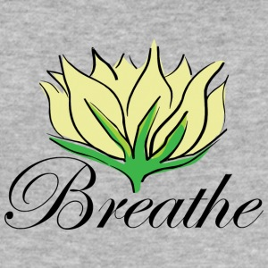 Yoga Breathe - Männer Slim Fit T-Shirt