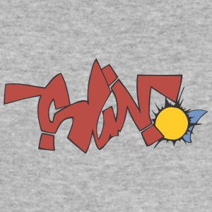 Sön 2 graffiti - Slim Fit T-shirt herr