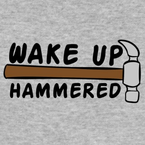 Roofing: Wake Up Hammered - Men's Slim Fit T-Shirt