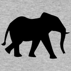 Elefant - Männer Slim Fit T-Shirt