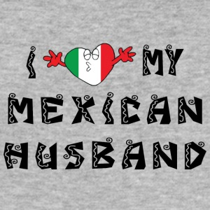 I Love My Husband Mexican - Tee shirt près du corps Homme