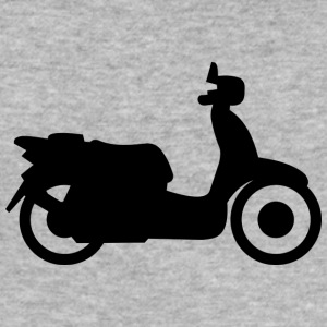 vespa moped - Slim Fit T-skjorte for menn