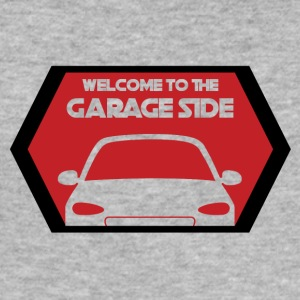 Mechaniker: Welcome To The Garage Side - Männer Slim Fit T-Shirt