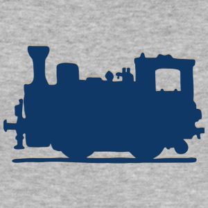Vintage Steam Train - Men's Slim Fit T-Shirt