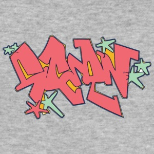 Cool gatukonst graffiti - Slim Fit T-shirt herr