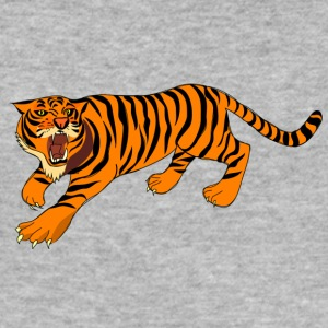 fara tiger - Slim Fit T-shirt herr