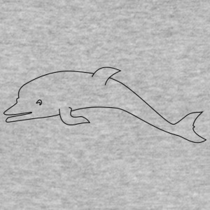 Sweet dolphin - slim fit T-shirt