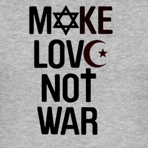 Make Love Not War - Herre Slim Fit T-Shirt