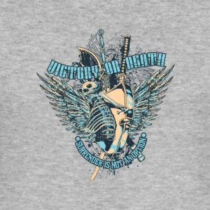 Victory or Death - Männer Slim Fit T-Shirt