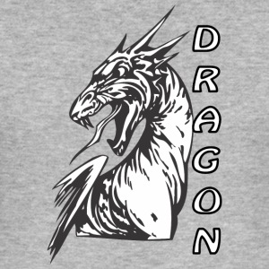 Angry Dragon 2 - Slim Fit T-skjorte for menn