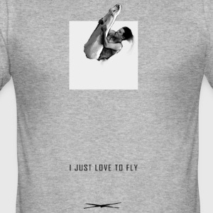 Ijustlovetofly_teen_boy_tshirt - slim fit T-shirt