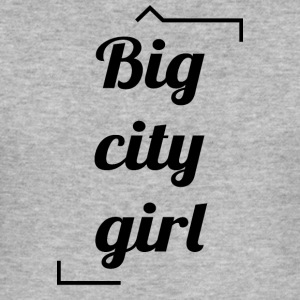 Big City Girl - Slim Fit T-skjorte for menn