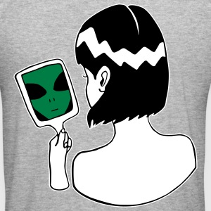 Alien in the Mirror - Ich bin ein Alien - Männer Slim Fit T-Shirt