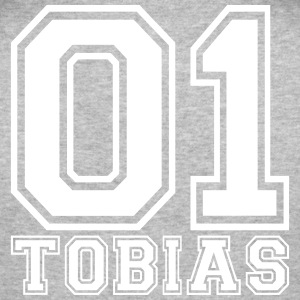Tobias- Name - Männer Slim Fit T-Shirt
