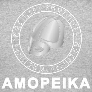 Amopeika Lys - Slim Fit T-skjorte for menn