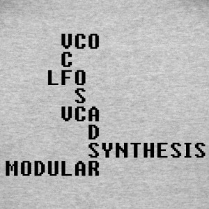 Modular Acronyms - Men's Slim Fit T-Shirt