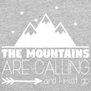 The Mountains are Calling 002 - Men's Slim Fit T-Shirt