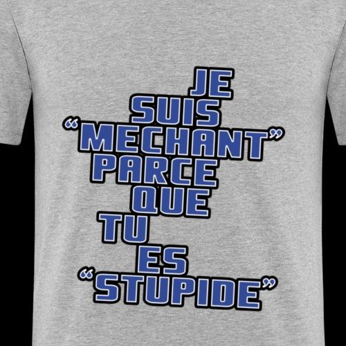 JE SUIS MECHANT - T-shirt près du corps Homme