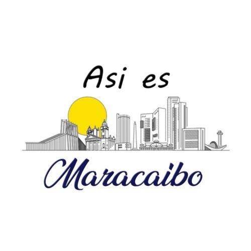 ASI ES MARACAIBO2 - Camiseta ajustada hombre