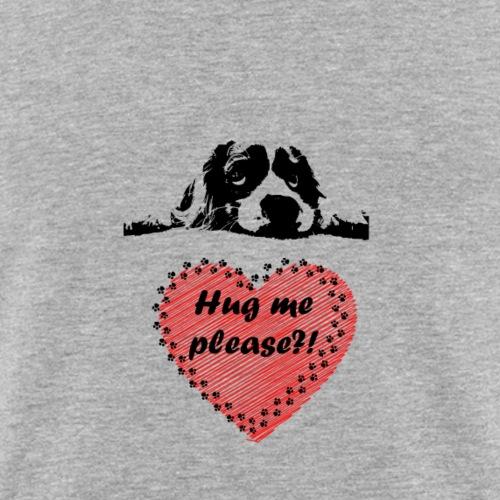 Hundewelpe Hug Me Please - Männer Slim Fit T-Shirt