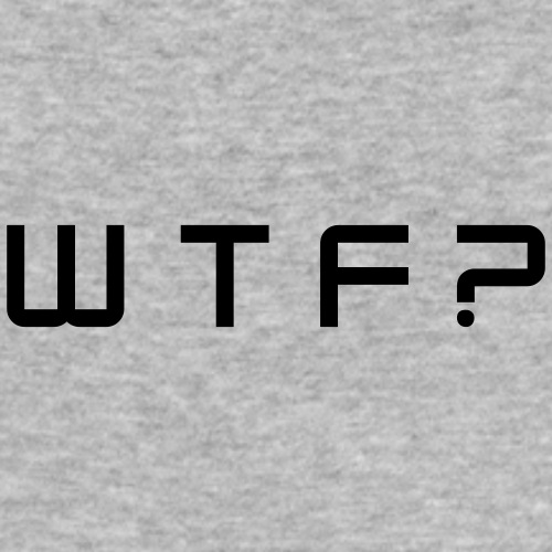 WTF - Slim Fit T-skjorte for menn