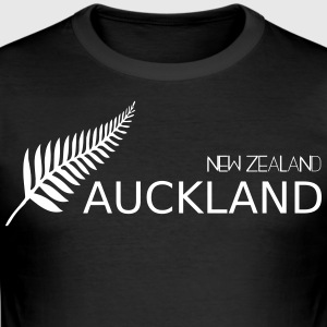auckland new zealand - Herre Slim Fit T-Shirt