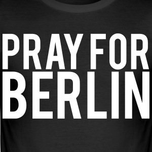 Be for Berlin. Senger for Berlin - Slim Fit T-skjorte for menn