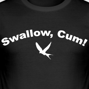 Swallow Cum - Männer Slim Fit T-Shirt