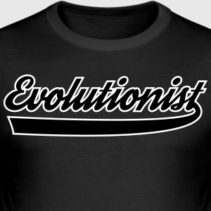 evolutionist - Slim Fit T-skjorte for menn