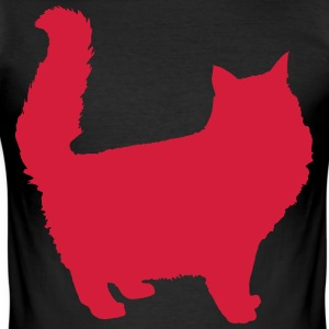 kattenoverzicht - slim fit T-shirt