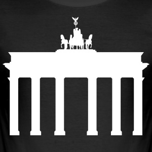 Berlin Brandenburg Gate - Slim Fit T-skjorte for menn