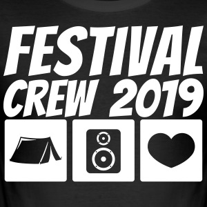 Festival Crew 2019 - Men's Slim Fit T-Shirt