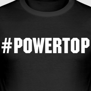 Power Top - Männer Slim Fit T-Shirt