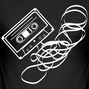 cassette salad - Men's Slim Fit T-Shirt