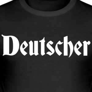 German - Men's Slim Fit T-Shirt
