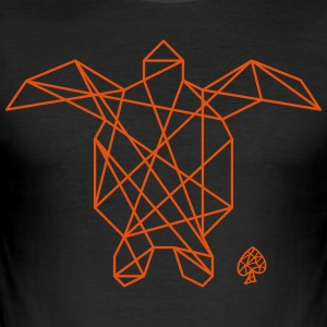 Shapes - Tortuga - Männer Slim Fit T-Shirt