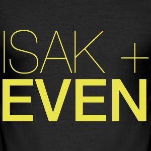 ISAK + EVEN - Slim Fit T-shirt herr