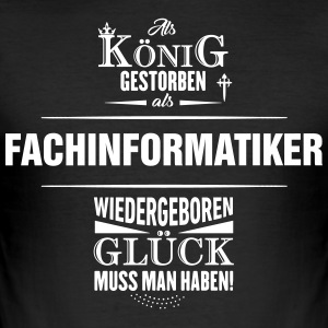 FACHINFORMATIKER - Männer Slim Fit T-Shirt