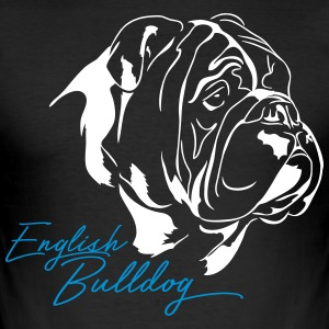 ENGLISH BULLDOG - Men's Slim Fit T-Shirt
