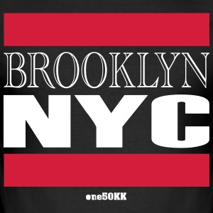 Brooklyn NYC - Slim Fit T-skjorte for menn