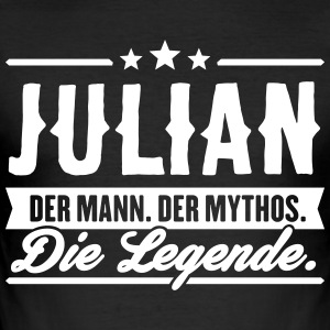 Man Myth Legend Julian - Slim Fit T-skjorte for menn
