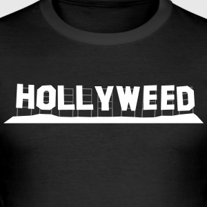 Hollyweed - Tee shirt près du corps Homme