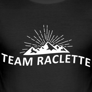 Team-Raclette - Männer Slim Fit T-Shirt