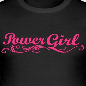 Girl Power - Tee shirt près du corps Homme