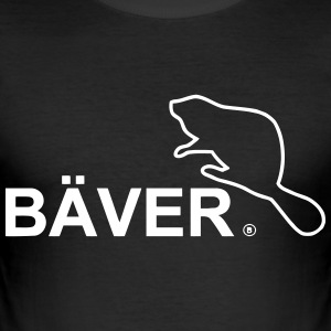 bæver - Herre Slim Fit T-Shirt