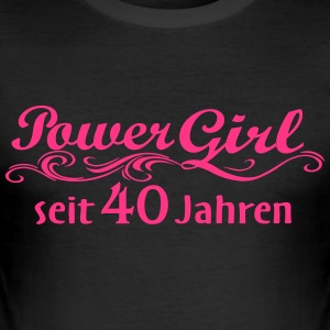 Girl Power de 40 ans - Tee shirt près du corps Homme