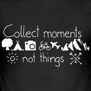 collectmoments - Männer Slim Fit T-Shirt