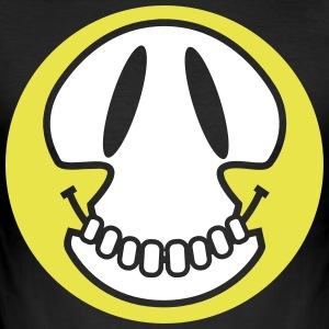 DEAD HAPPY - Herre Slim Fit T-Shirt