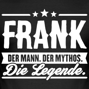 Man Myte Legend Frank - Herre Slim Fit T-Shirt