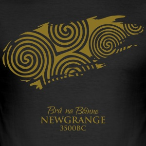 Legend_-_Newgrange2 - Men's Slim Fit T-Shirt